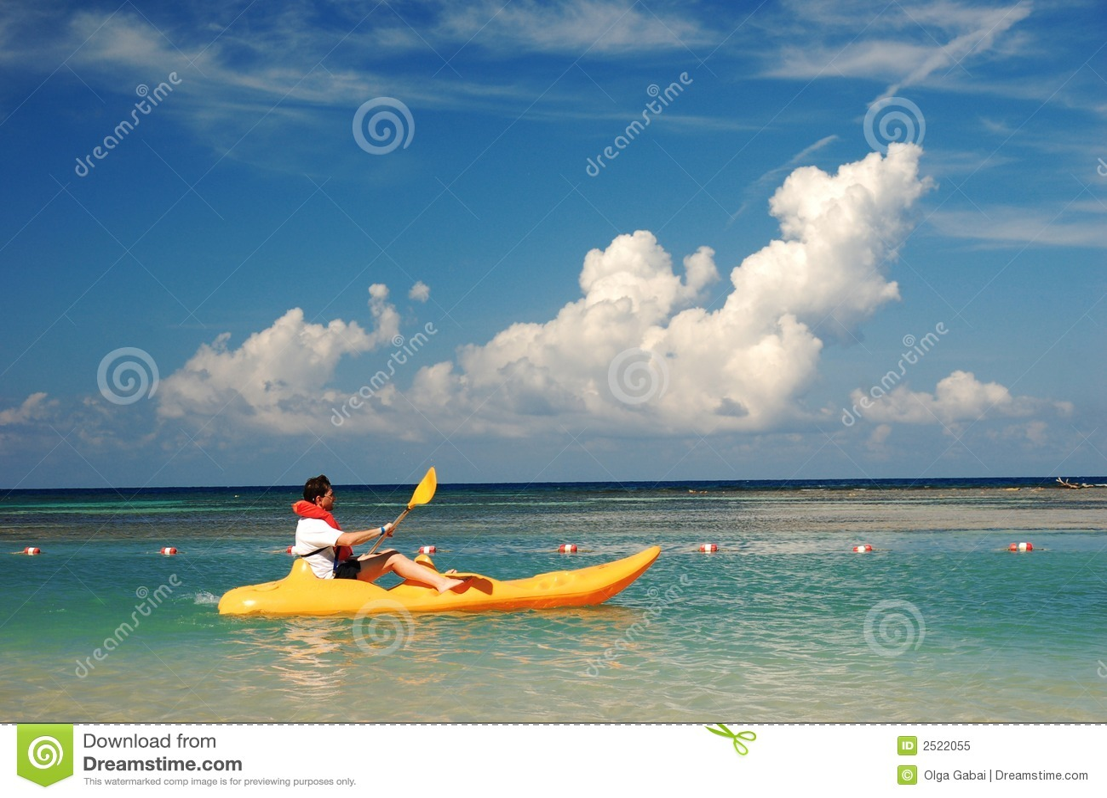 Men on kayak