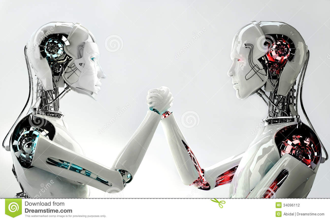 Robot Vs Man