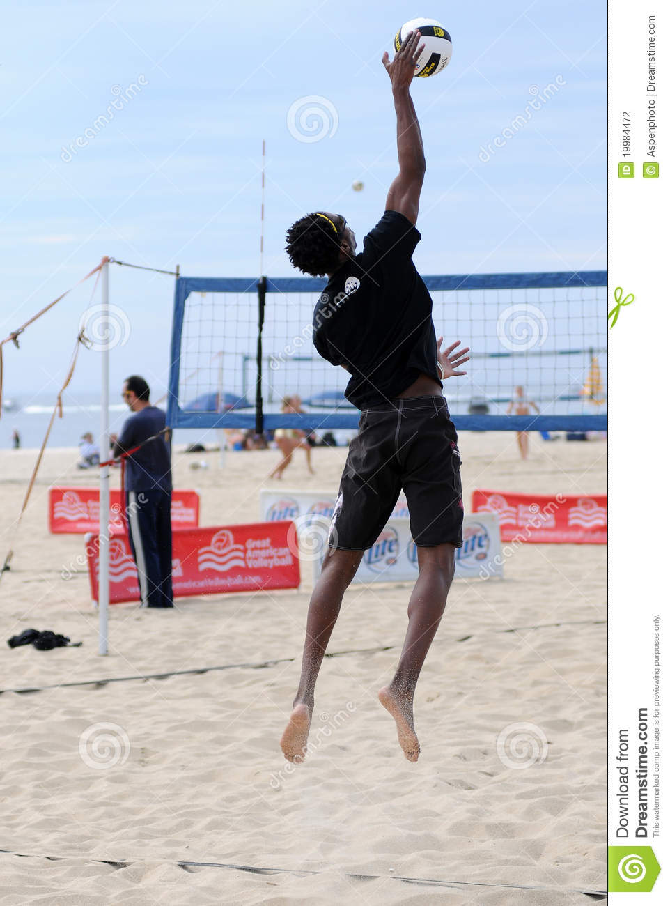 Volleyball Play...