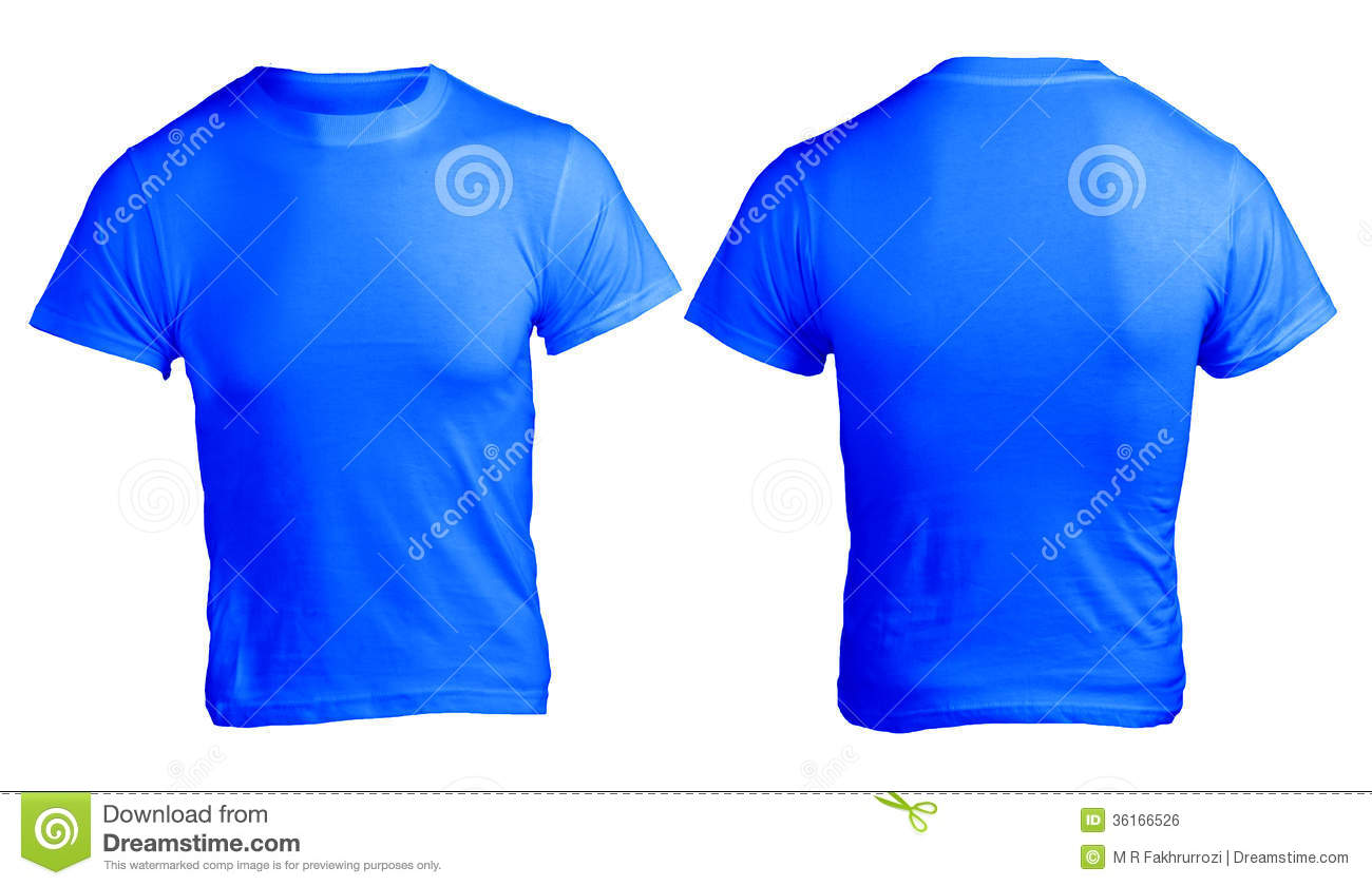 e66210506 Men s Blank Blue Shirt Template. Download preview. Add to lightbox FREE  DOWNLOAD