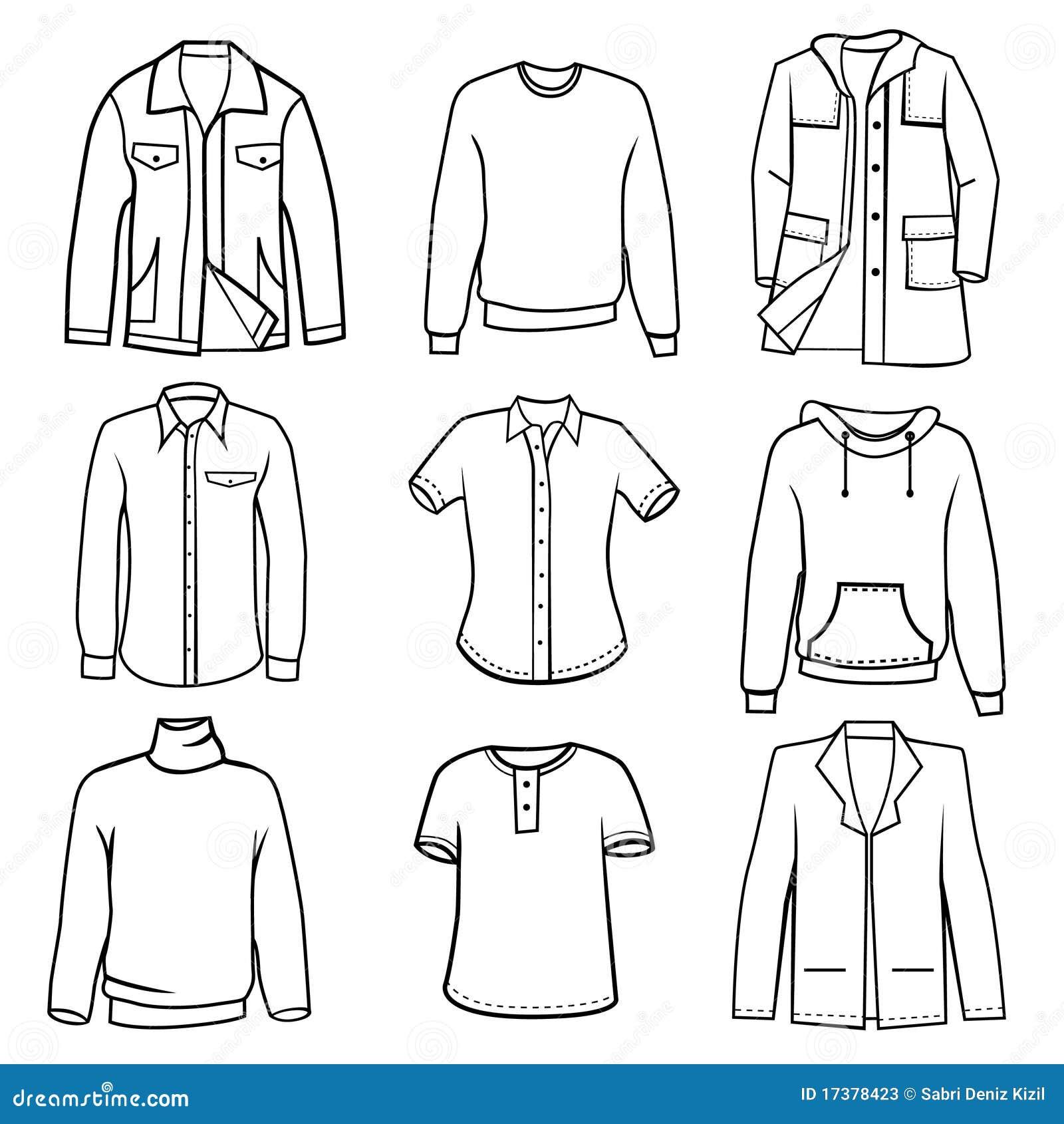 Printable Body Outline Fashion Design