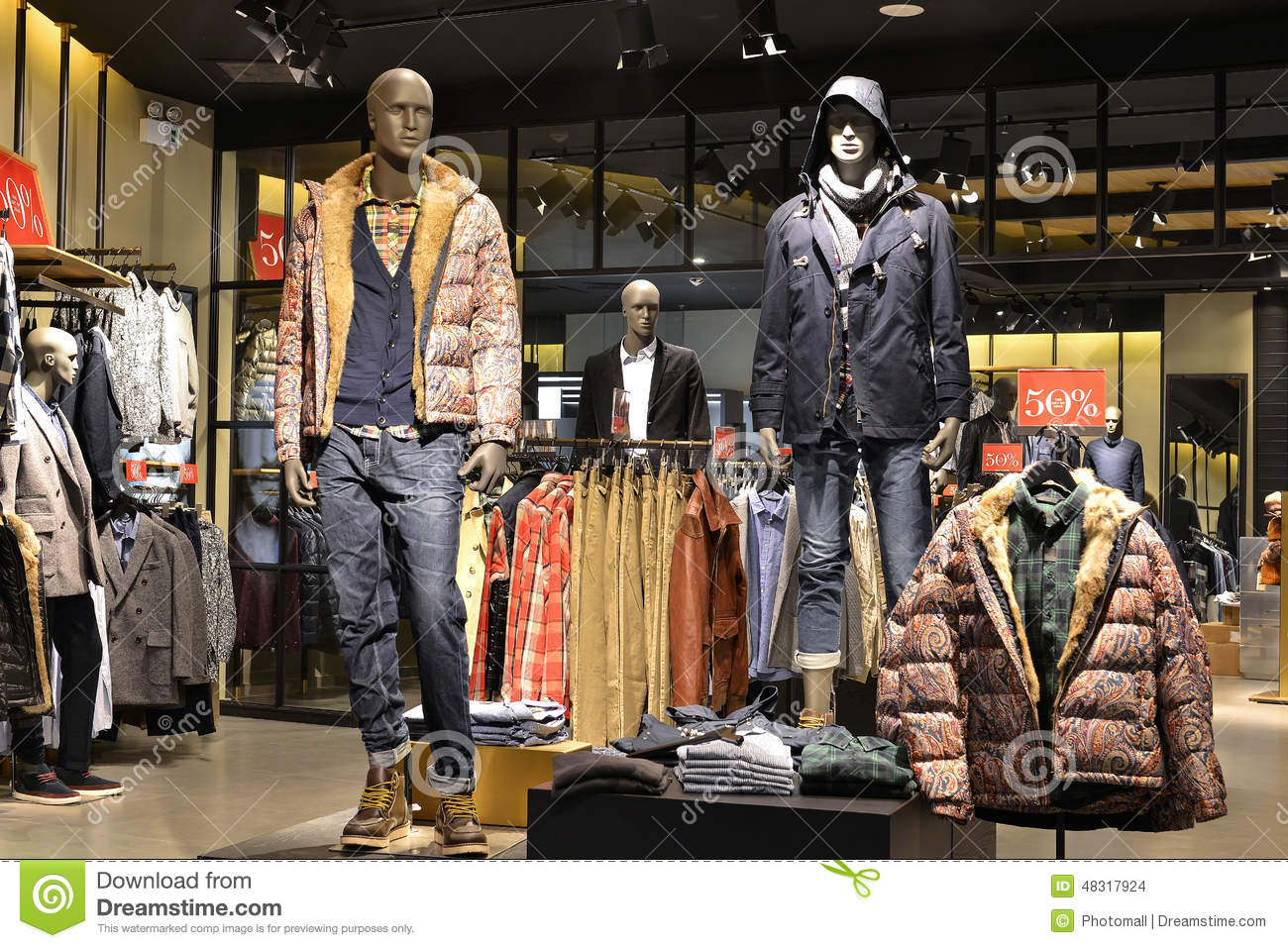 Men's Clothing. The choices and styles in men's clothing have evolved and expanded over the decades. Where you may have once been limited to a certain look, you can now mix and match a variety of pants, shirts, jackets, and jeans, as well as other apparel, to create dozens of unique looks.