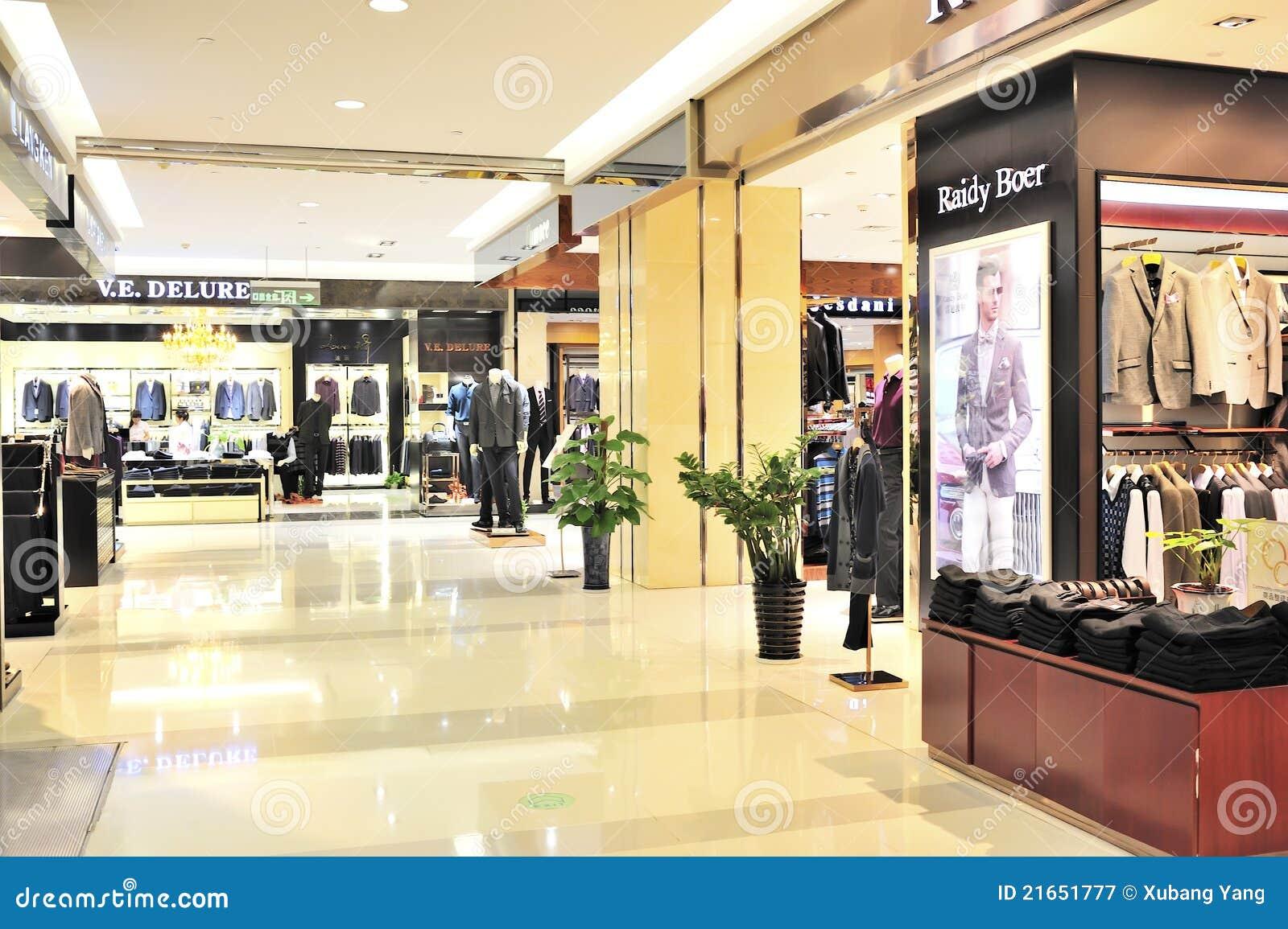 men's fashion clothing store in wuxi YAOHAN shopping plaza,YAOHAN is