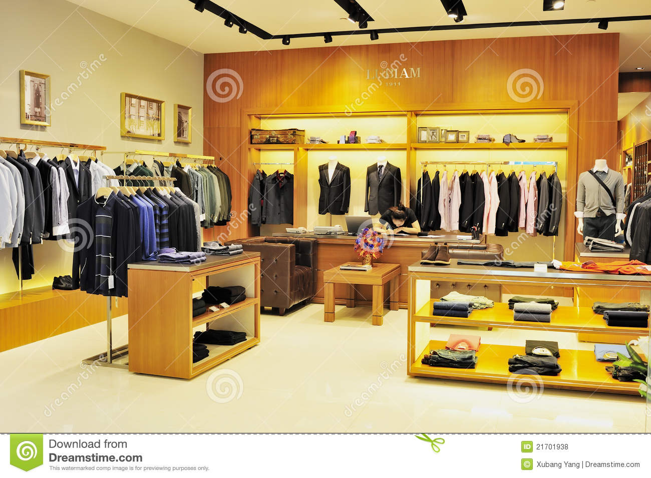 Clothing Store Men Clothes Shop Editorial Stock Photo - Image ...