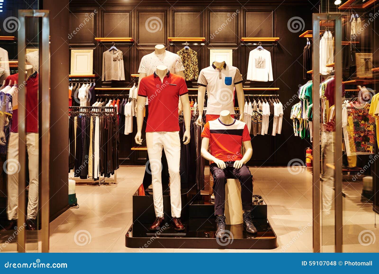 Mens Designer Clothing Shops | Mens Fashion Shop Window Boutique Stock Photo Image Of Boutique
