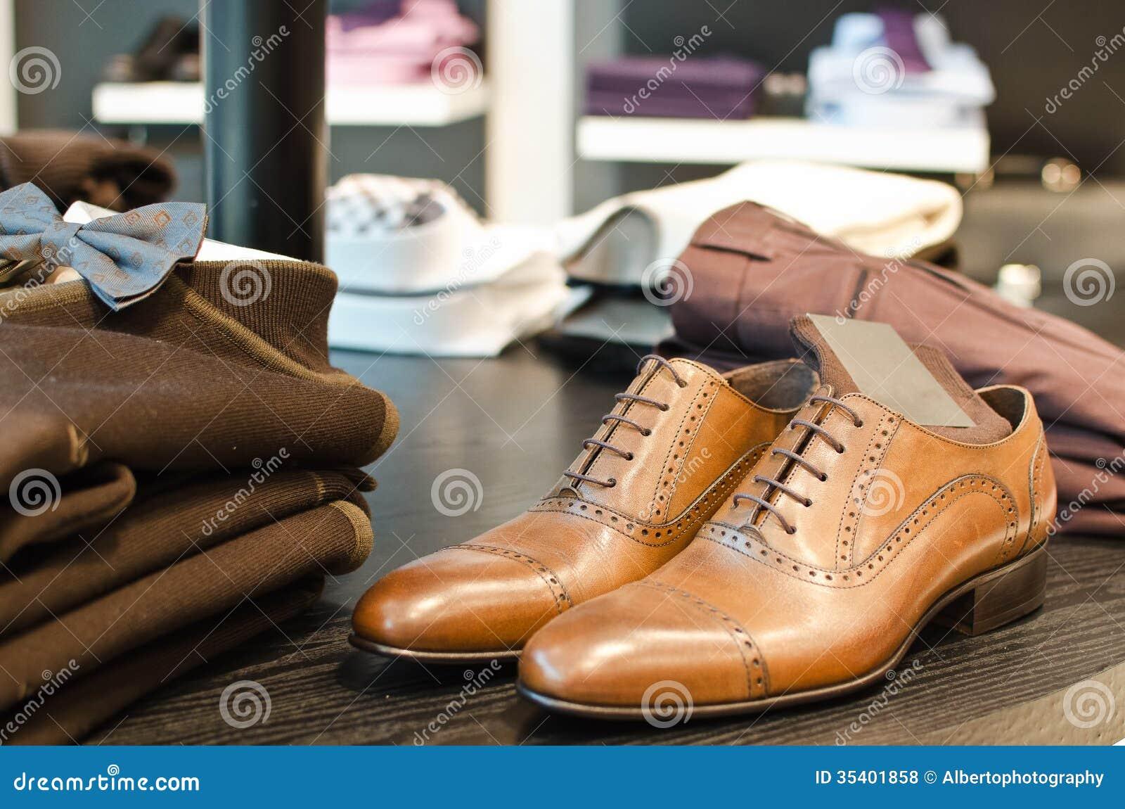 Menu0026#39;s fashion store stock photo. Image of dress male - 35401858