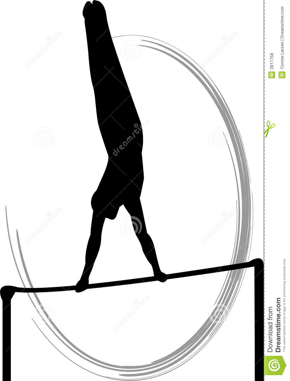Hines (OR) United States  city photo : Silhouette illustration of a male gymnast executing giant swings on ...