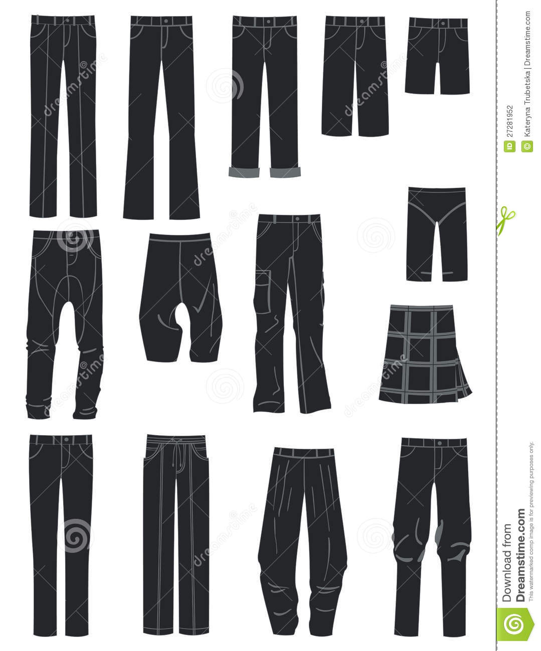 How to Choose Men's Pants for Silhouette