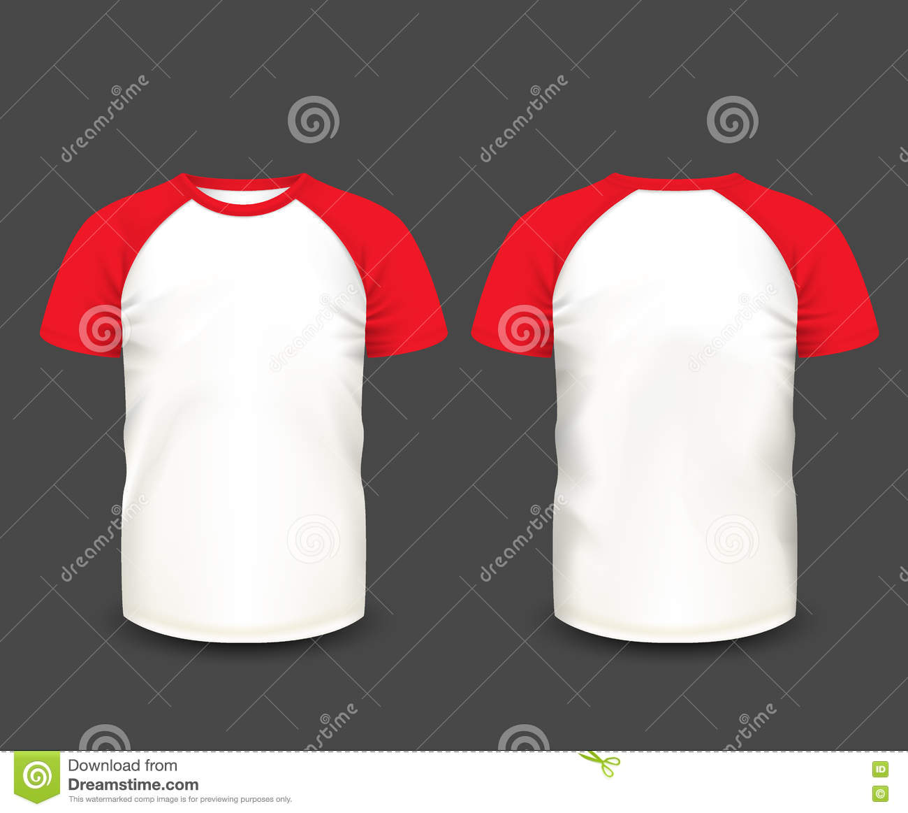 White t shirt eps - Royalty Free Vector