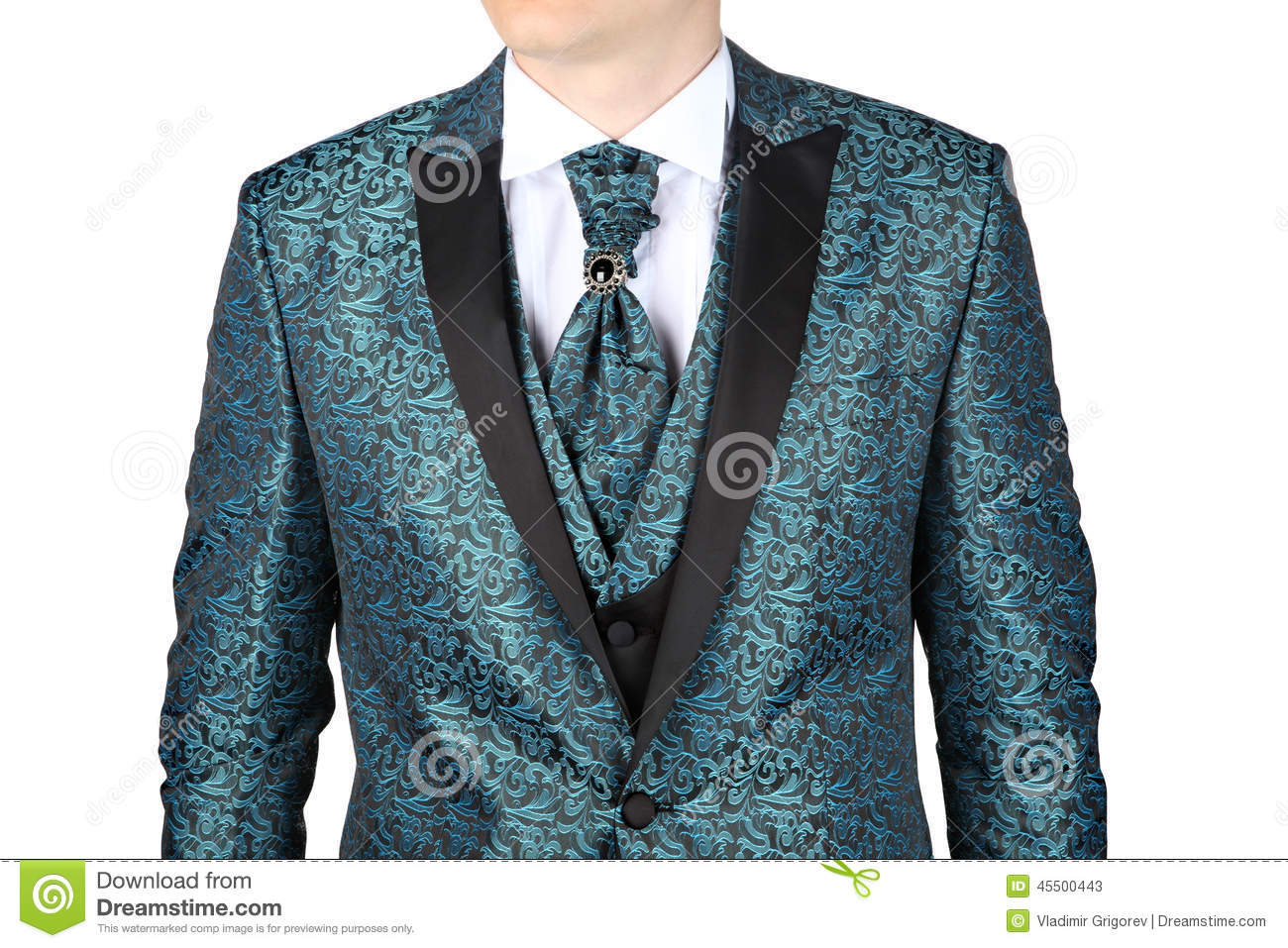 S Male Fashion Patterned Suits