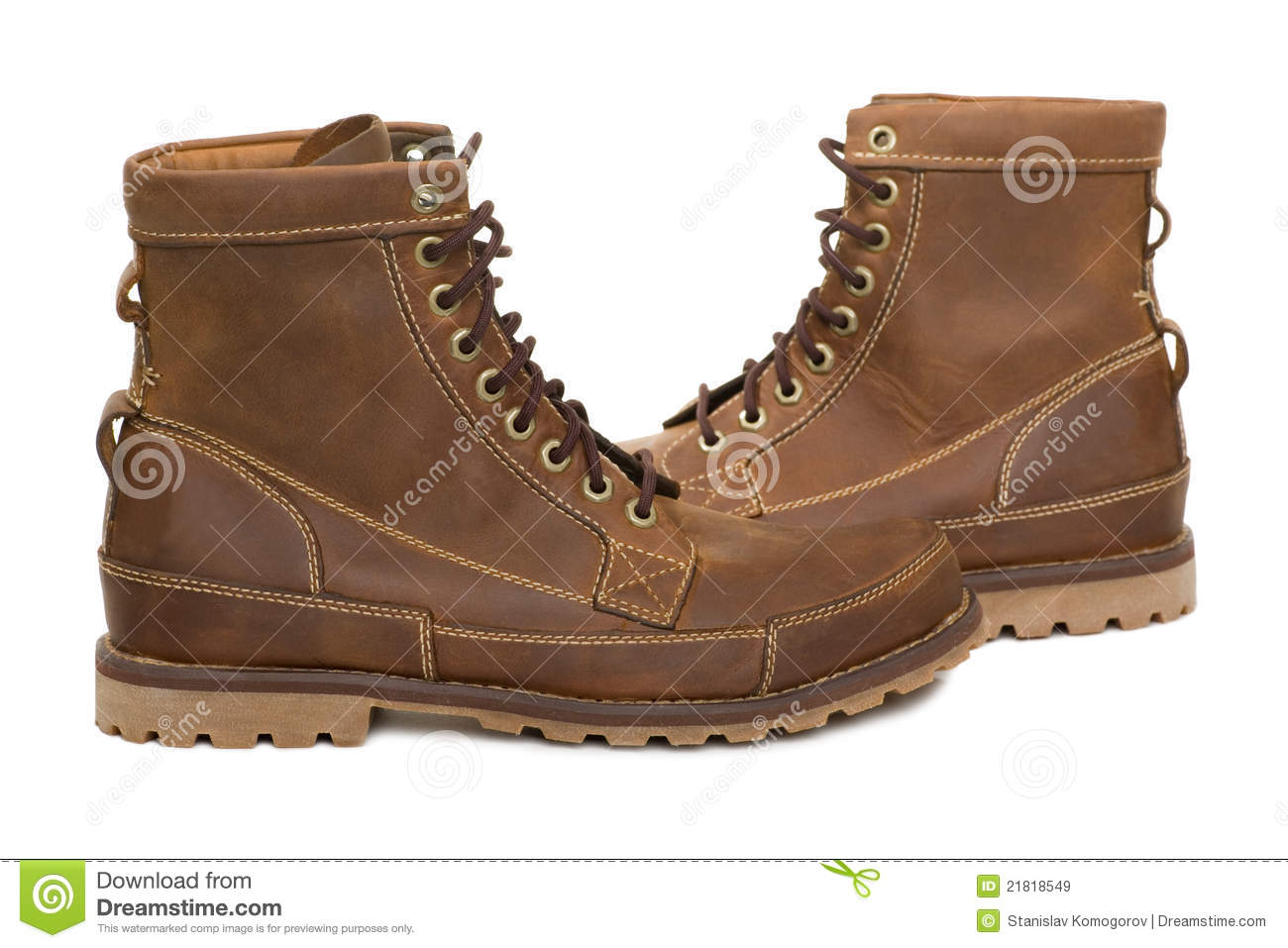 Men's Winter Boots Royalty Free Stock Images - Image: 21818549