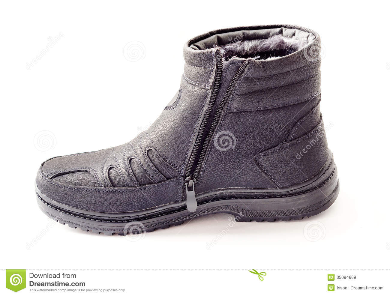 Men's Winter Boots Royalty Free Stock Images - Image: 35094669
