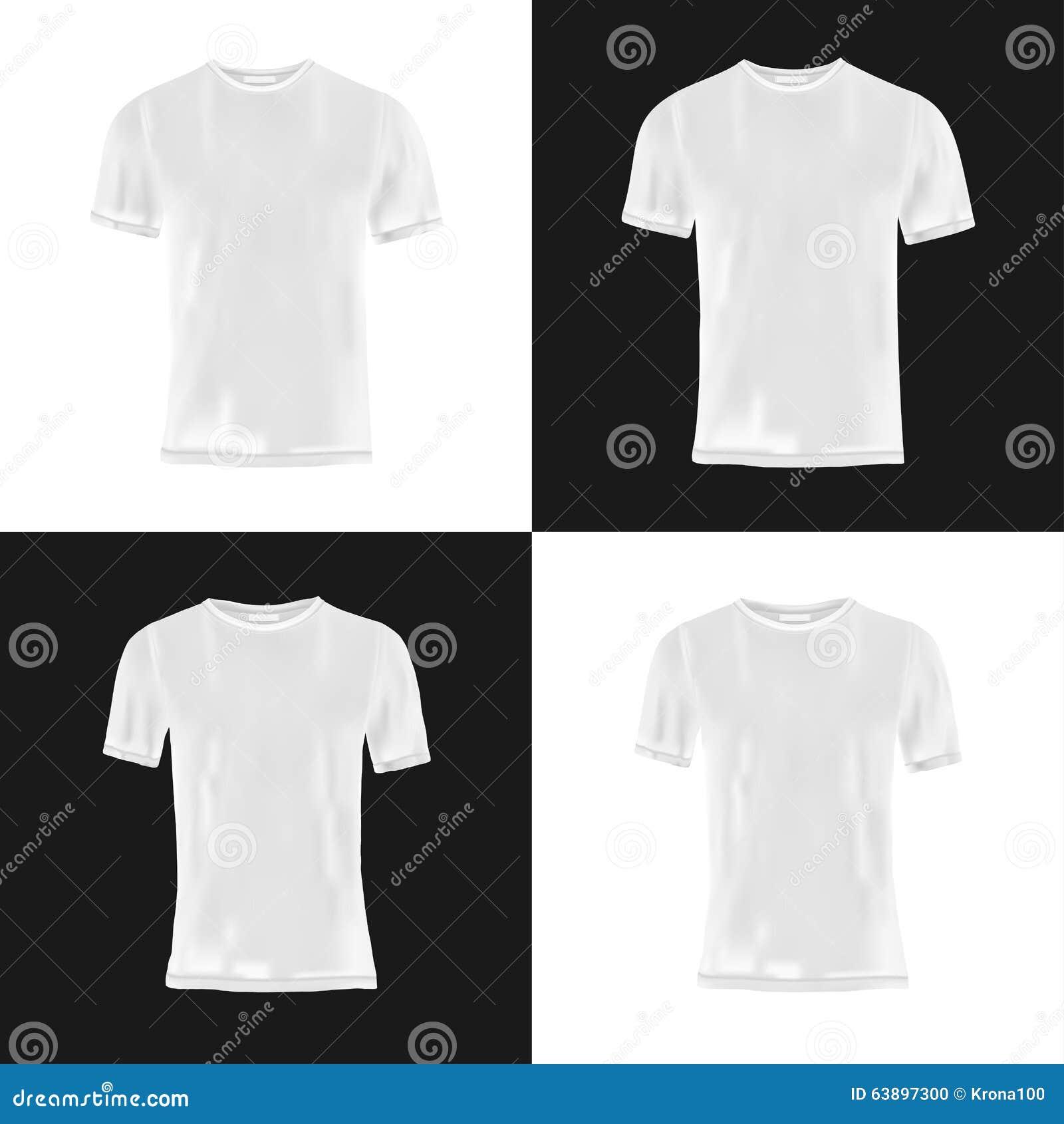 Shirt design black - Men S And Women S T Shirt Design Template Stock Photo