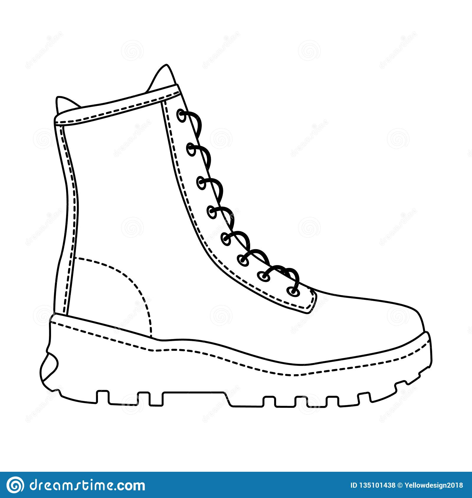 489bcc14a1 Men shoes high top sneakers isolated. Male man season shoes icons.  Technical sketch