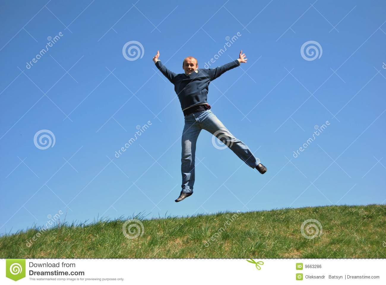 Men with skipping stock photo. Image of outside, beautiful ...