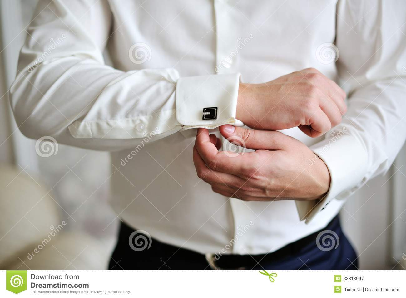 Men wear a cufflinks stock image image of lifestyle for Mens shirts with cufflinks