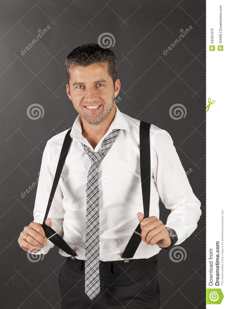 Men in white shirts stock photo image of young caucasian for Man in white shirt