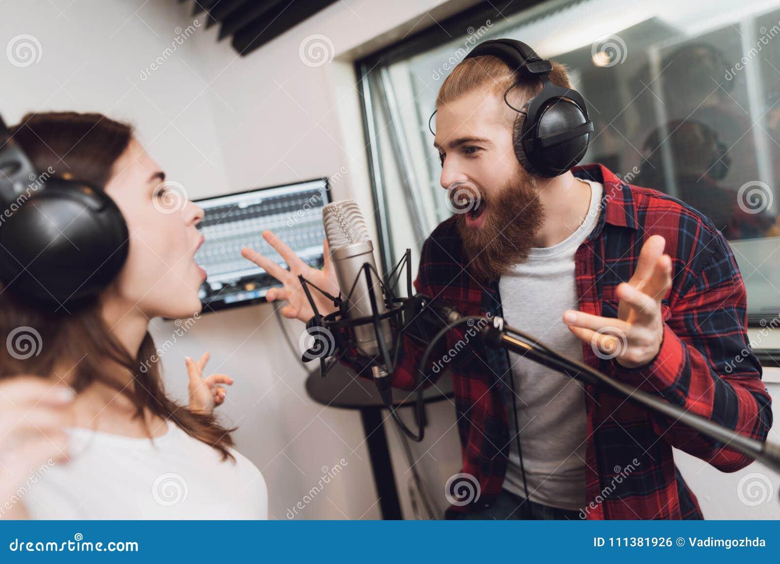 men in white song