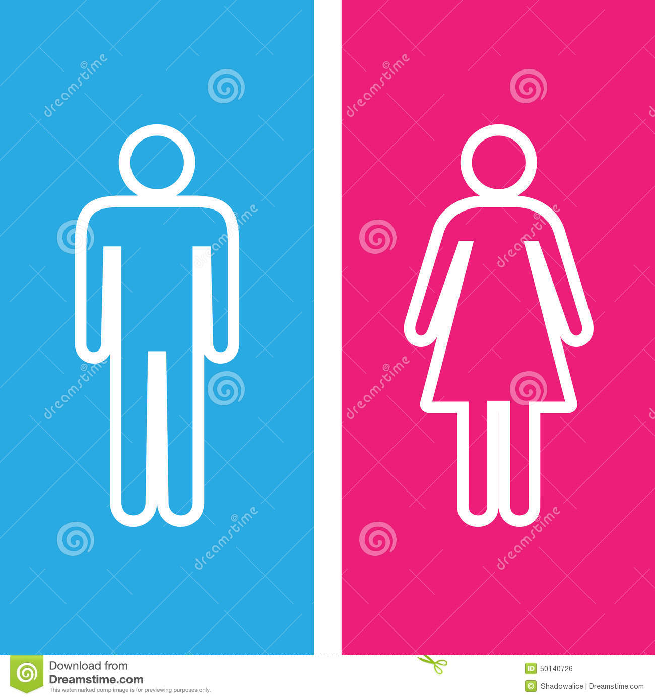 Bathroom Sign Male Vector men and women toilet sign great for any use. vector eps10. stock