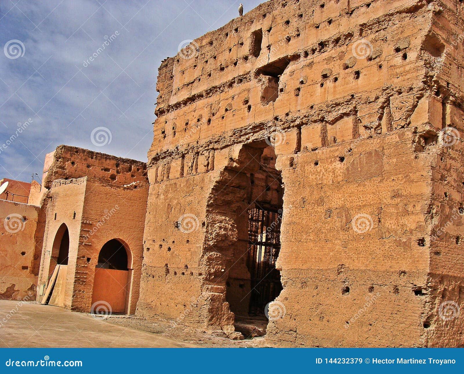 The Menara garens