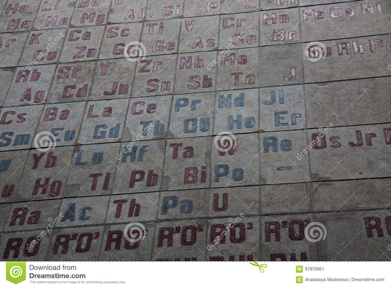 Mendeleev table chemistry science background laboratory stock image periodic table chemical elements symbol numbers background urtaz Image collections