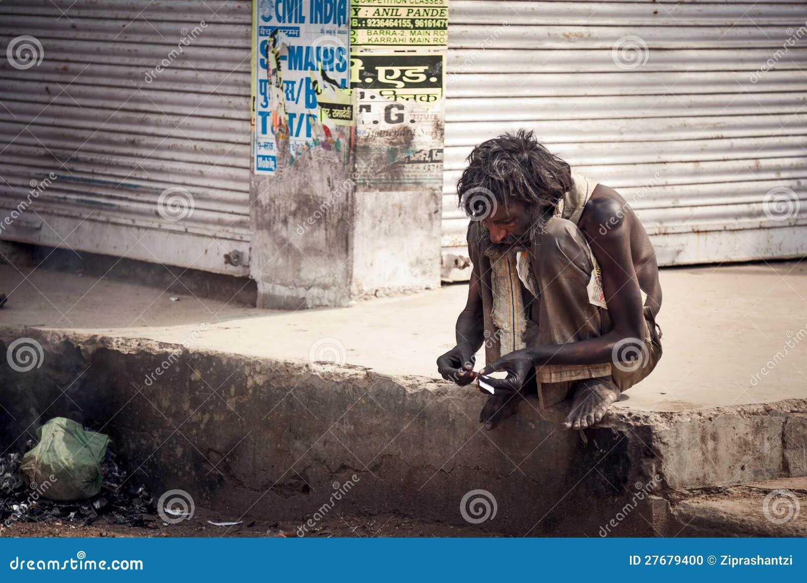 Mendiant indien