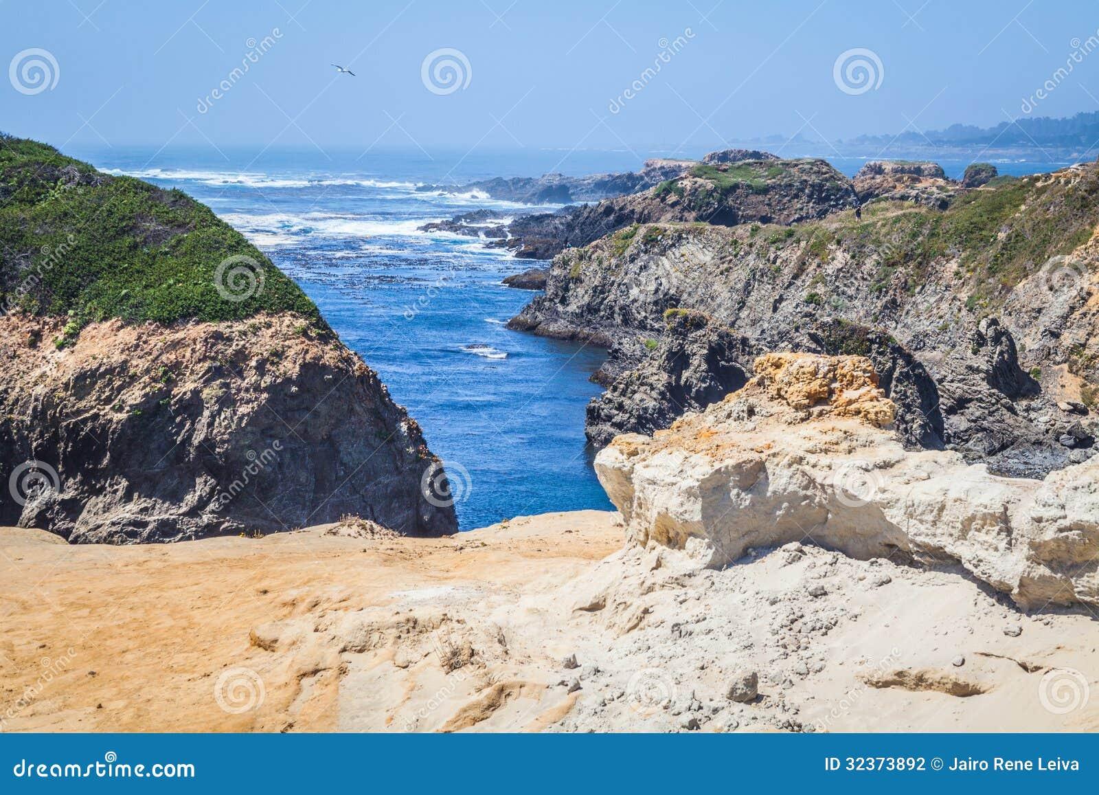 Mendocino海岸形成