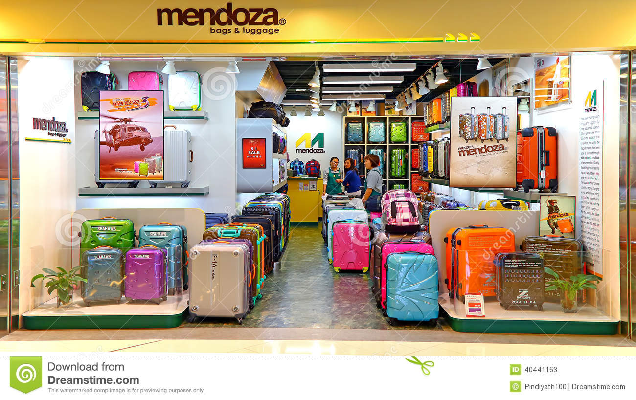 Mendoza Luggage Store Editorial Stock Photo - Image: 40441163