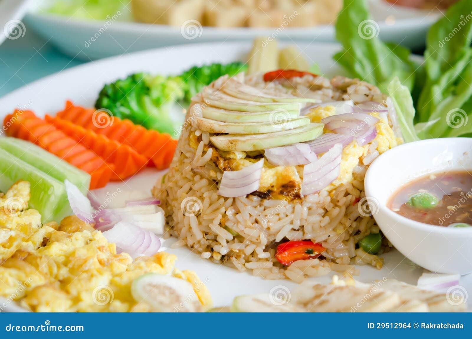 Mengeling gekookte rijst
