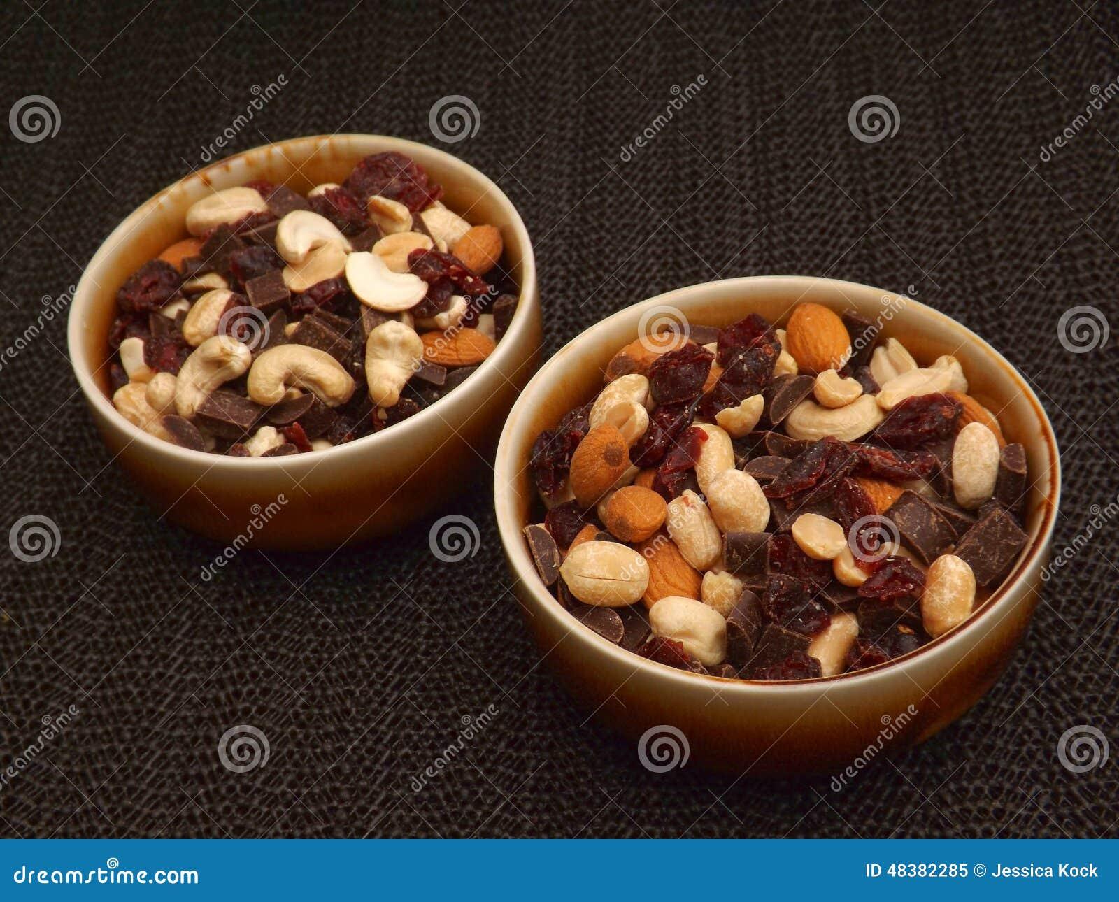 Mengeling van noten