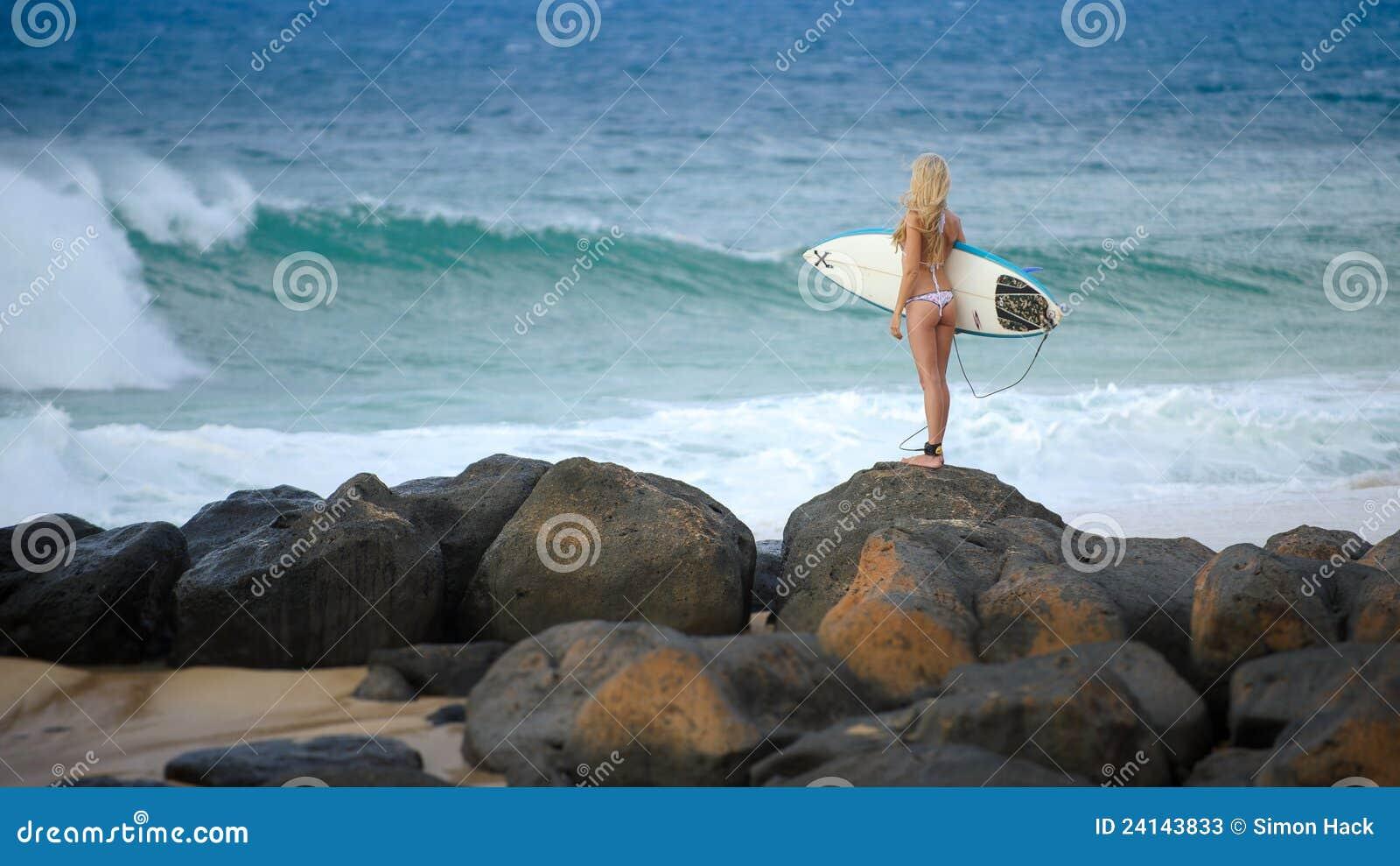 Menina 5 do surfista