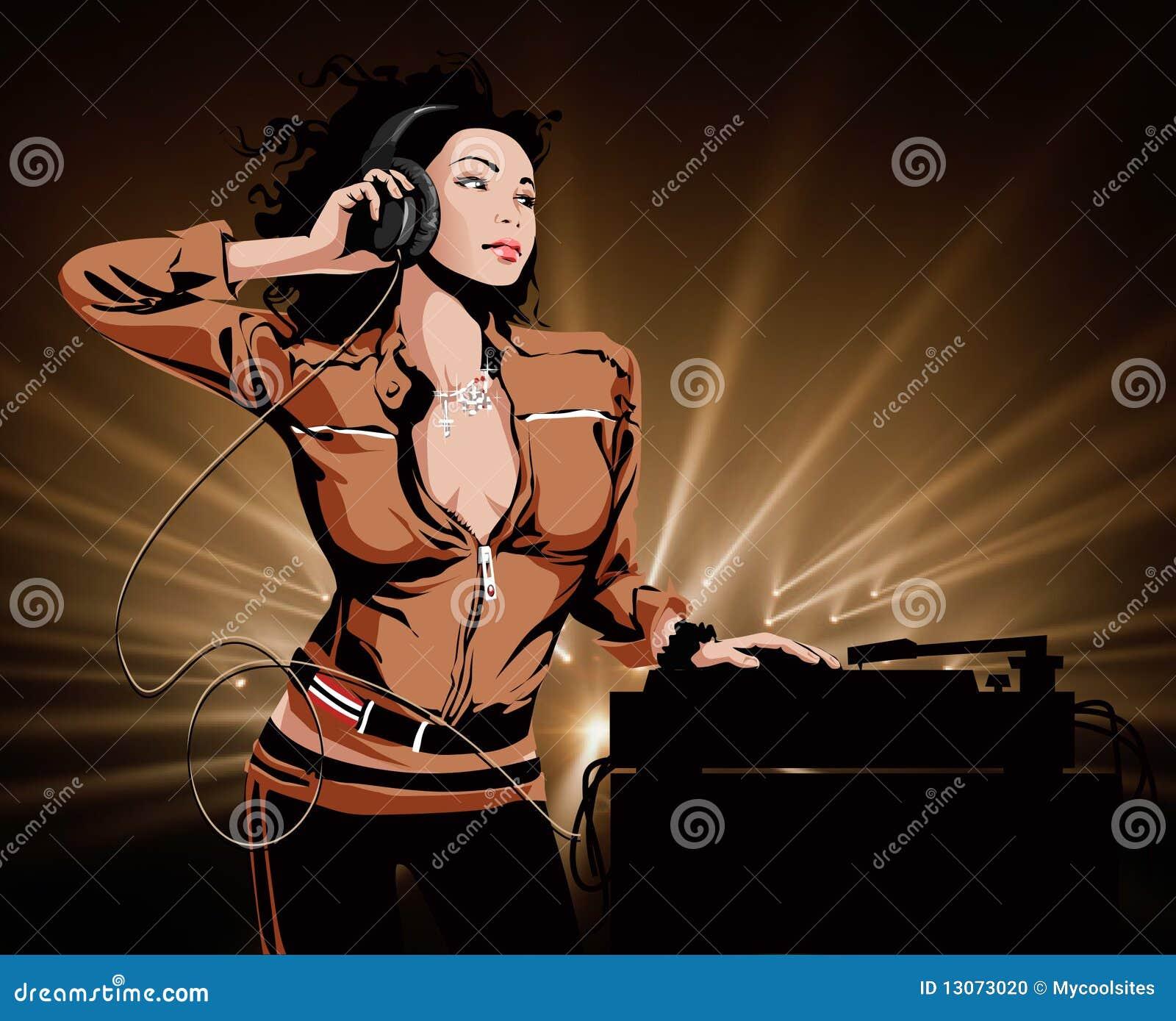 Menina bonita DJ