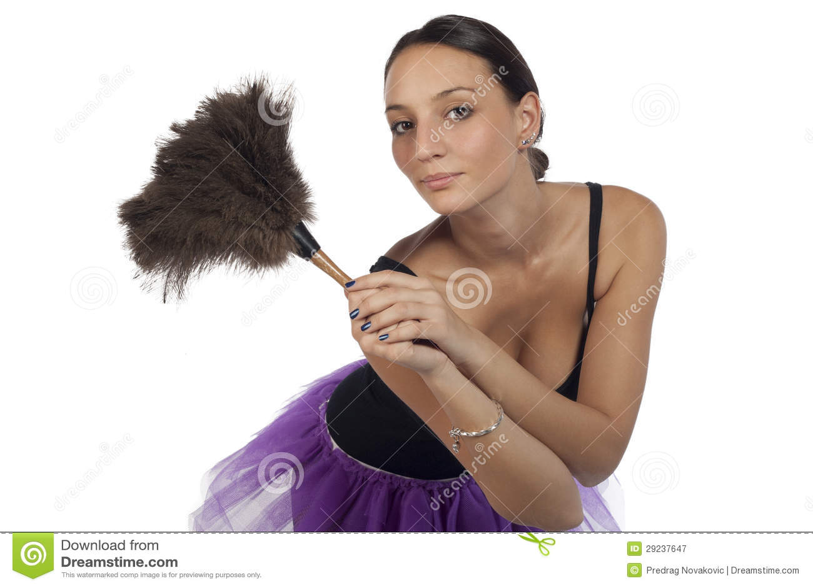 Download Menina Bonita Do Dia Das Bruxas Imagem de Stock - Imagem de bonito, feriados: 29237647