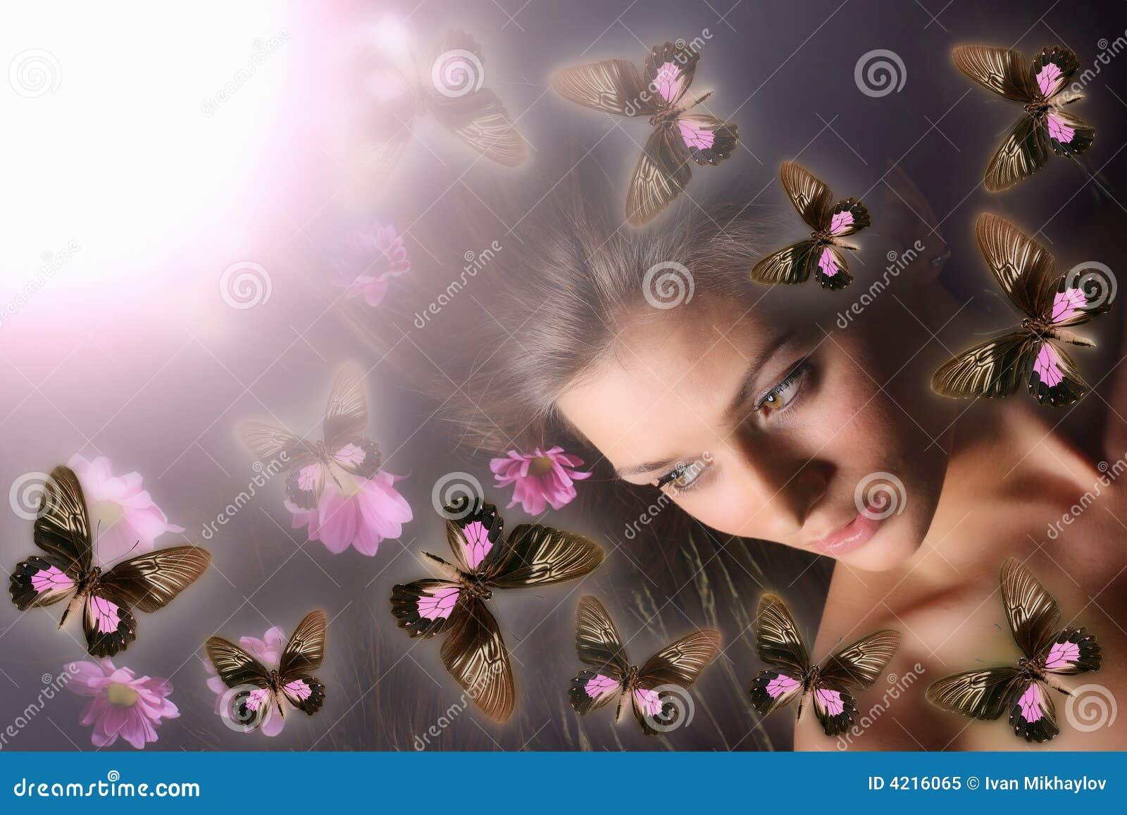 Menina da borboleta
