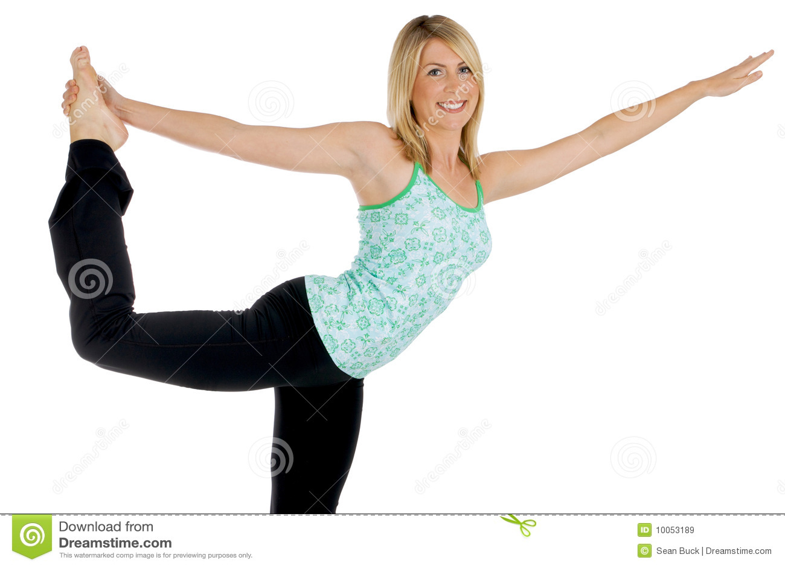 Menina da ioga