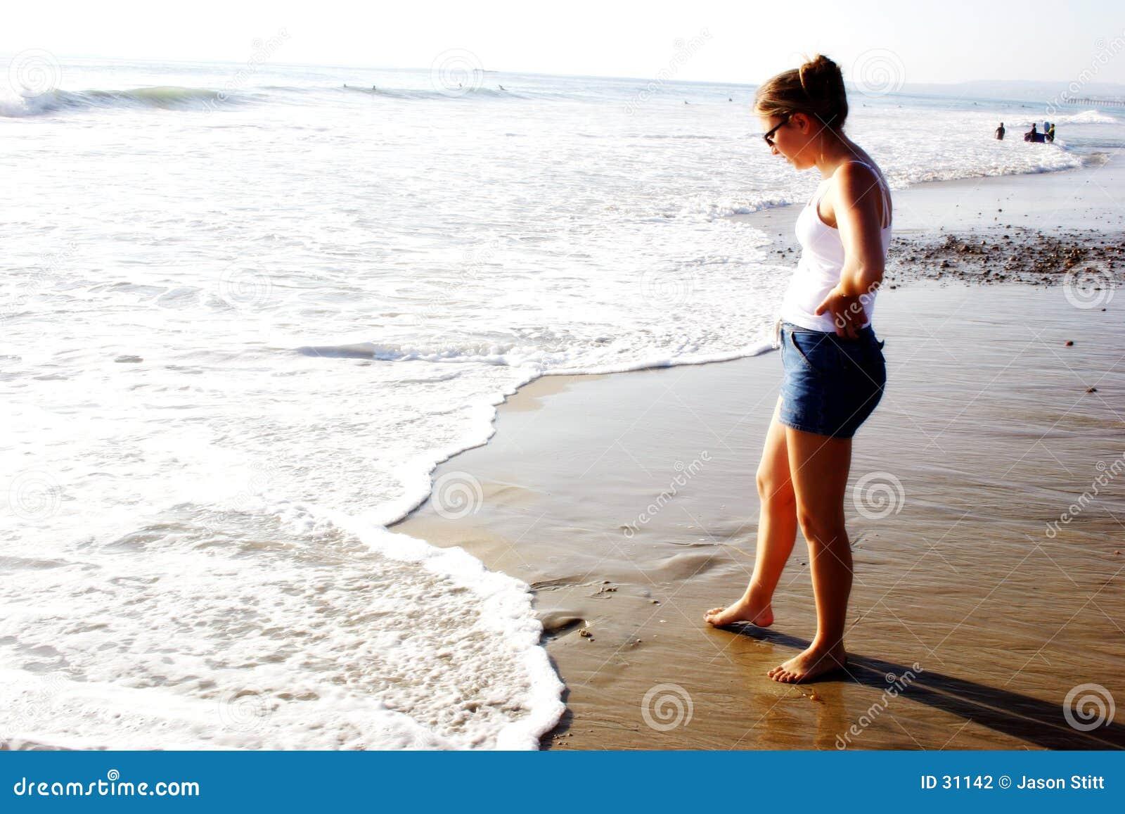 Menina da praia