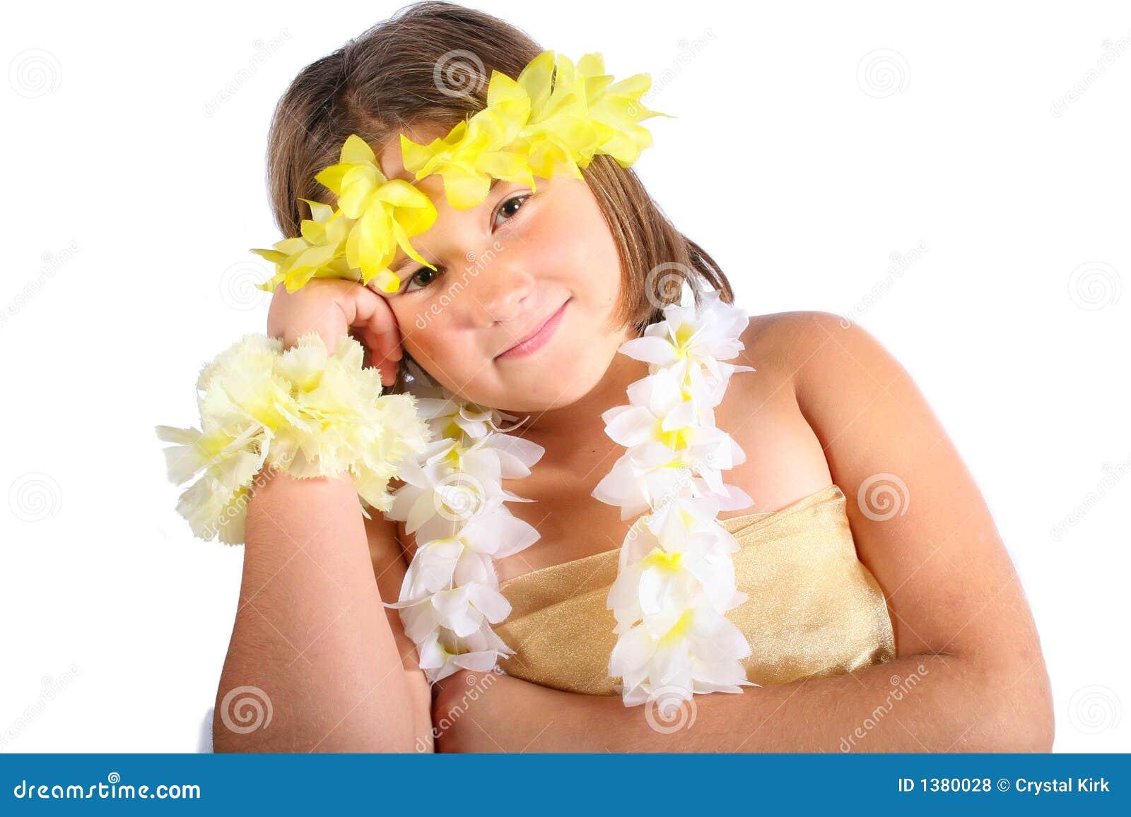 Menina de Havaí