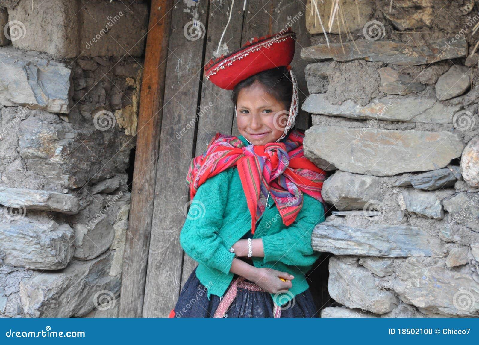 Menina de Peru
