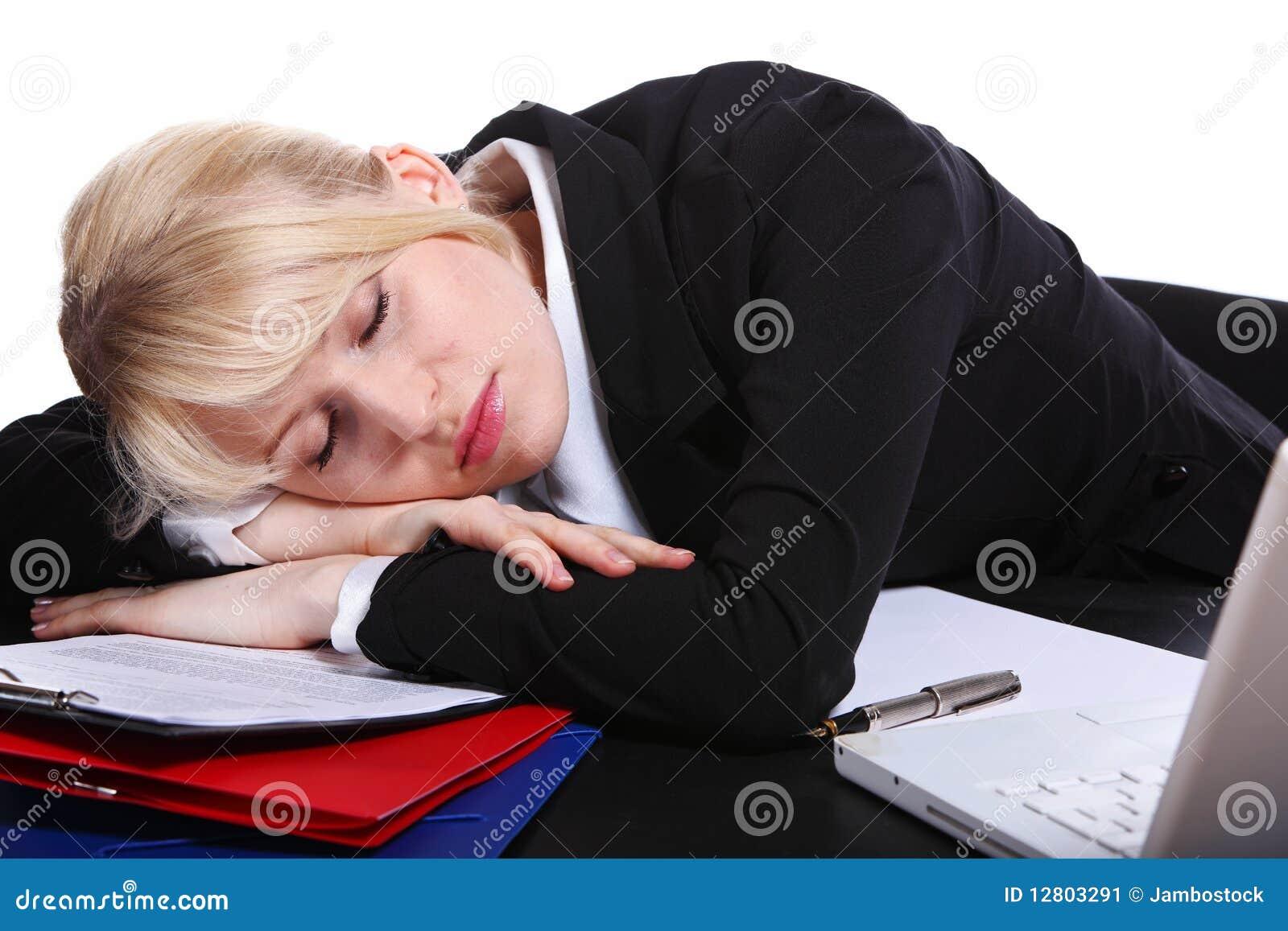 A menina de sono