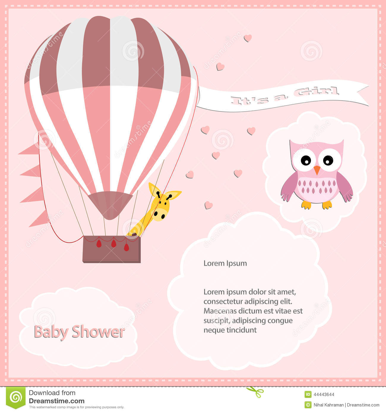 Baby Shower Scroll Invitations for perfect invitations layout