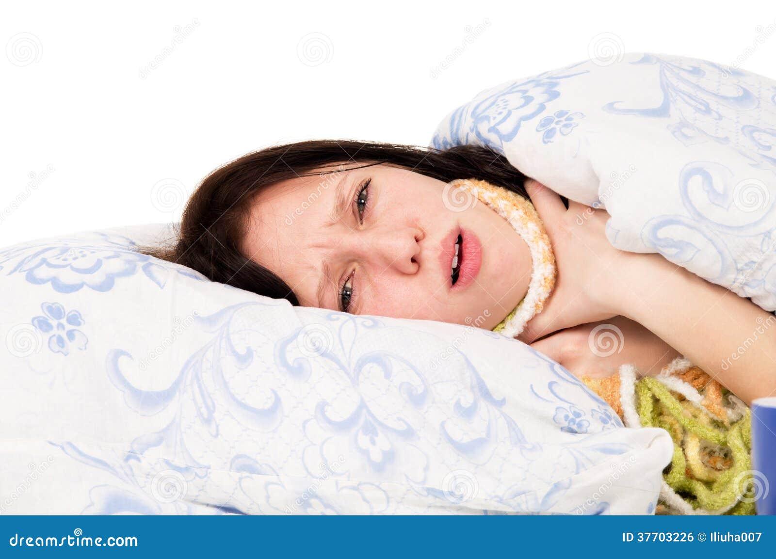 garganta cama