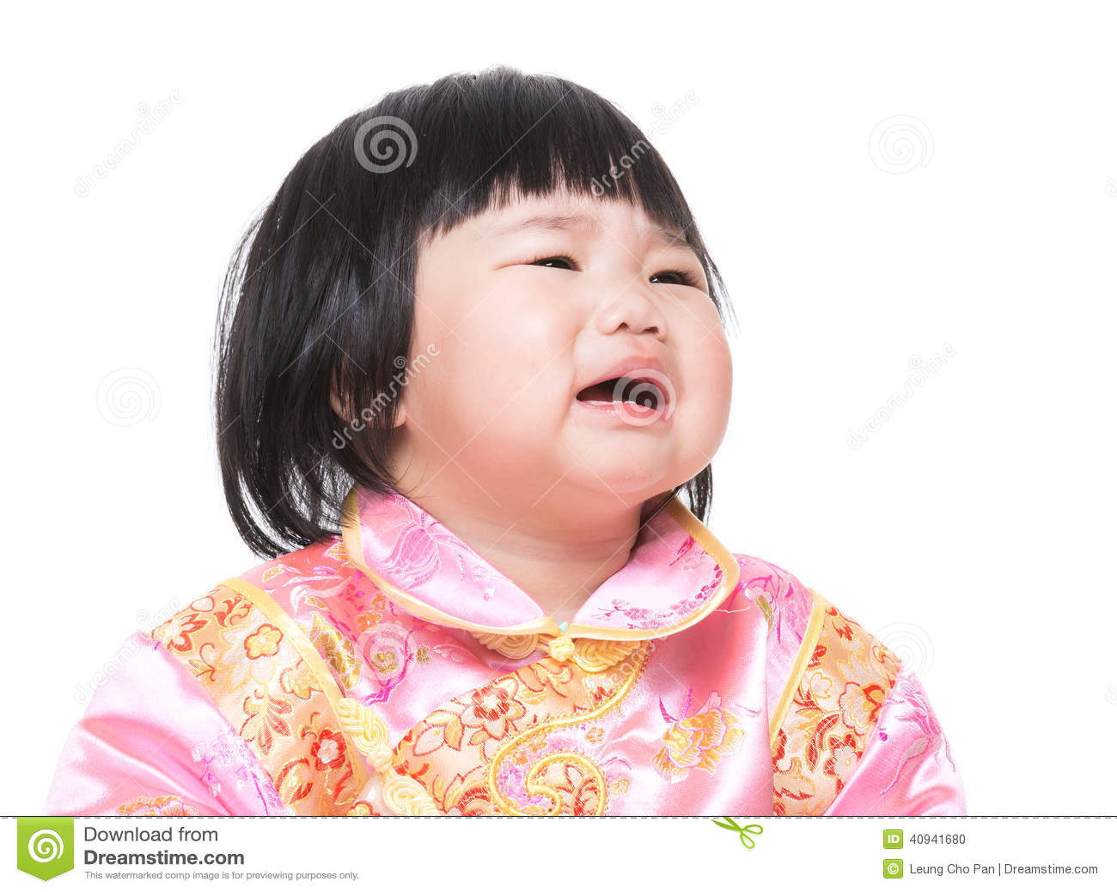 Menina encantadora chinesa