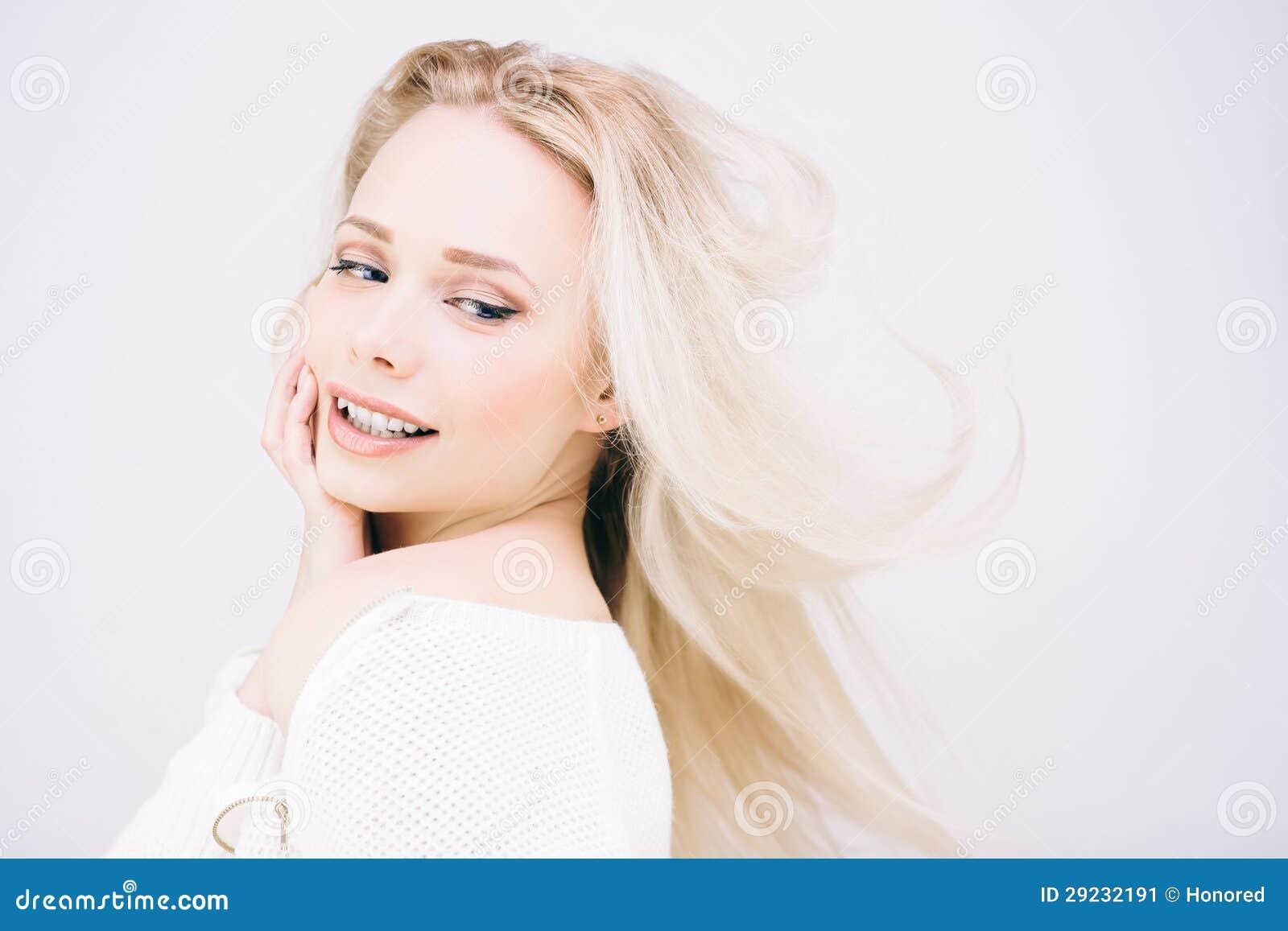 Download Menina Loura De Magnificient Imagem de Stock - Imagem de adulto, sweater: 29232191