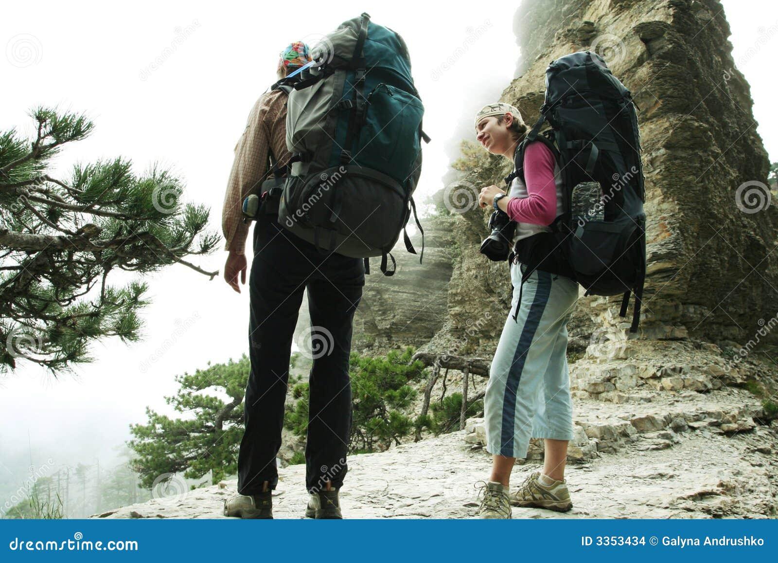Menina no hike