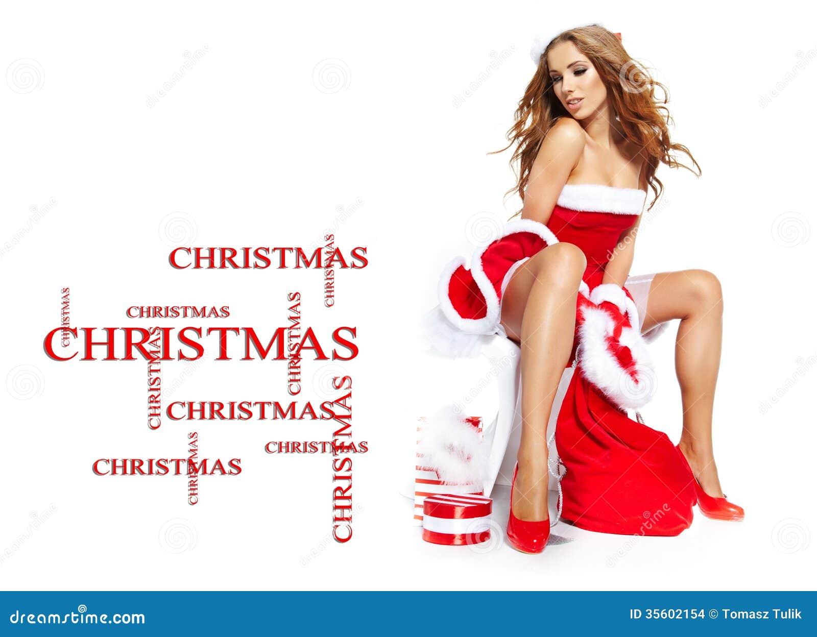 Sexy christmas e cards