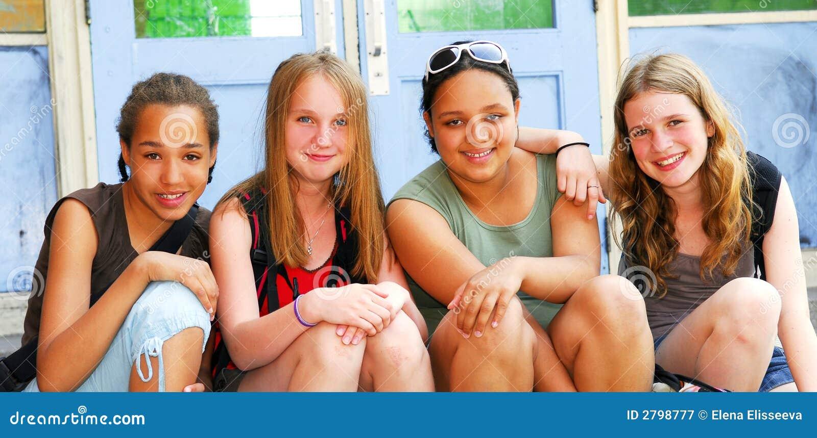 Meninas da escola