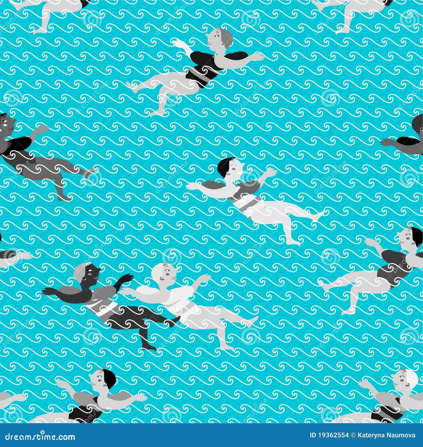 Meninas da natação.