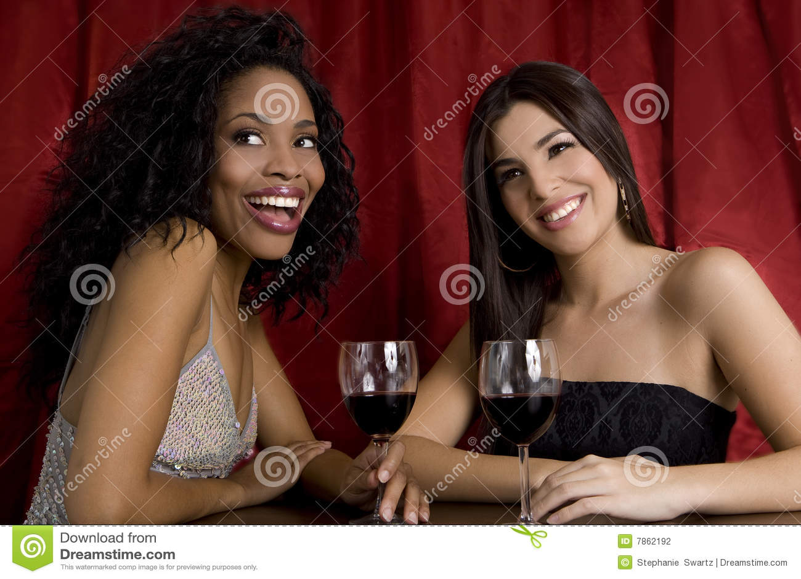 Meninas em um clube