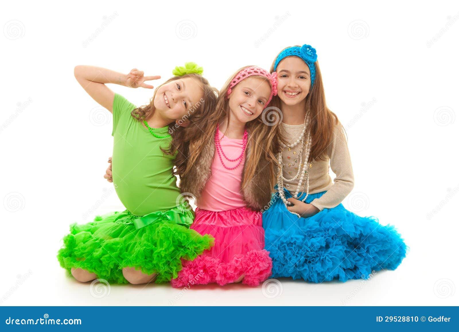 Meninas felizes