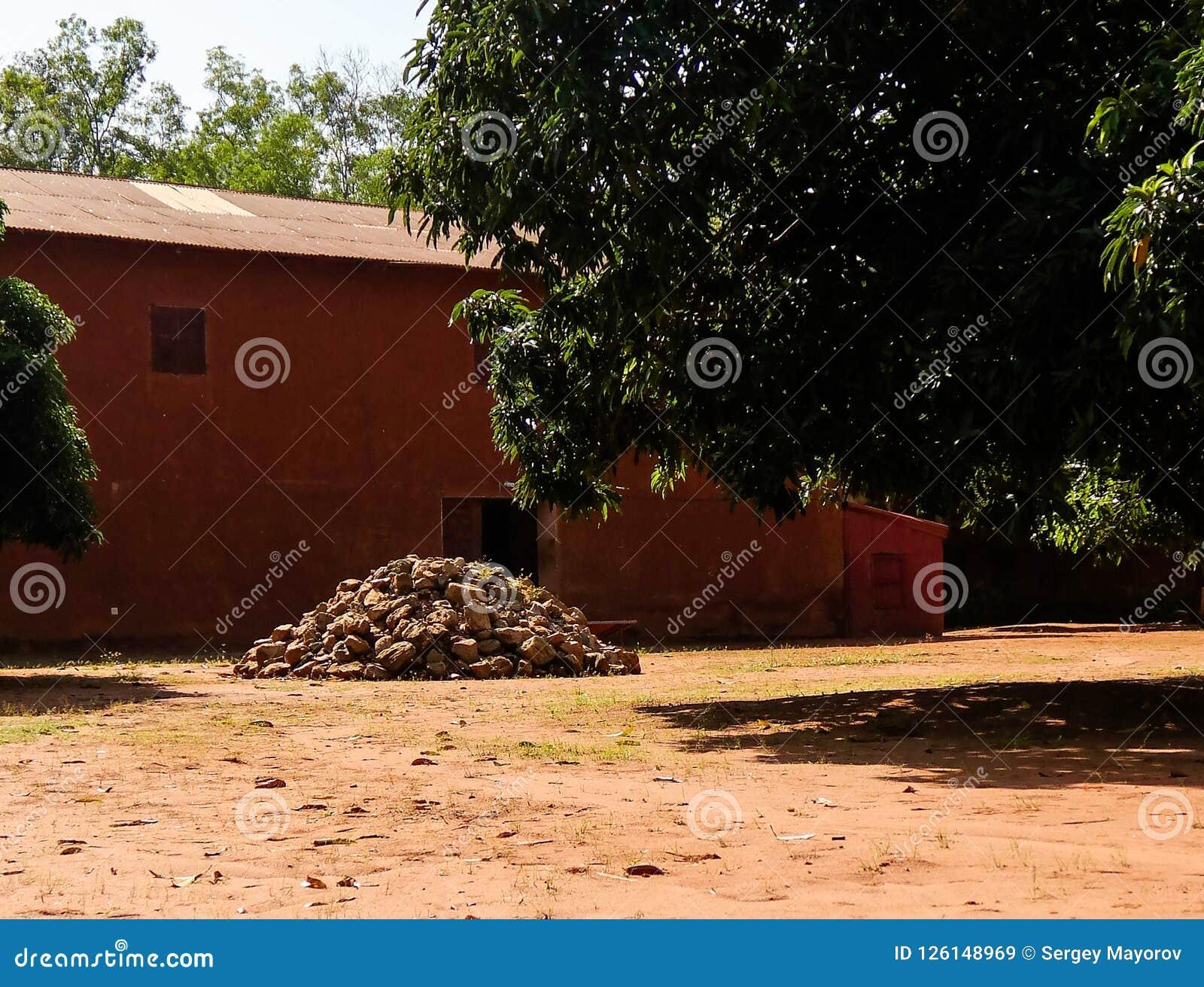 Mening aan Koninklijke Paleizen van Abomey, Benin